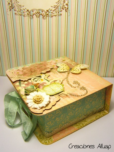 Caja origami - origami box