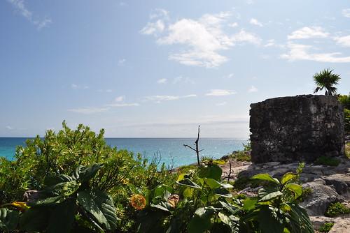 Tulum ruins - coast-11