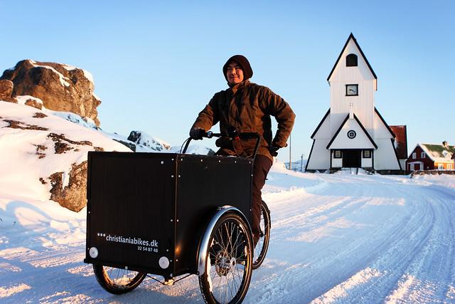 Empieza a hacer frío aquí, pero no tanto como en Groenlandia