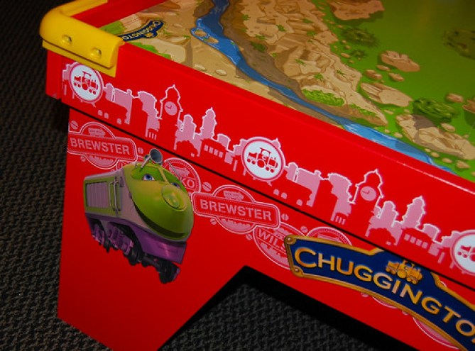 Chuggington train table