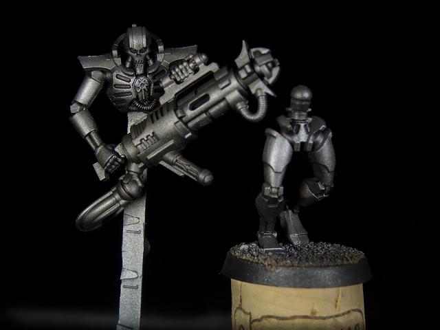 Necron Immortals / Inmortales Necrón 006