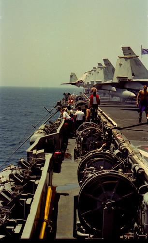 Cat Walk - USS Independence (CV 62)