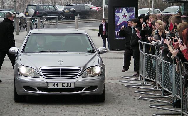 Britains Got Talent auditions, Cardiff. Aleisha Dixon arrivals.