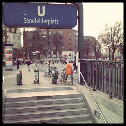 U Senefelderplatz