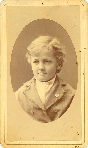 Howard Forrer Peirce as a child