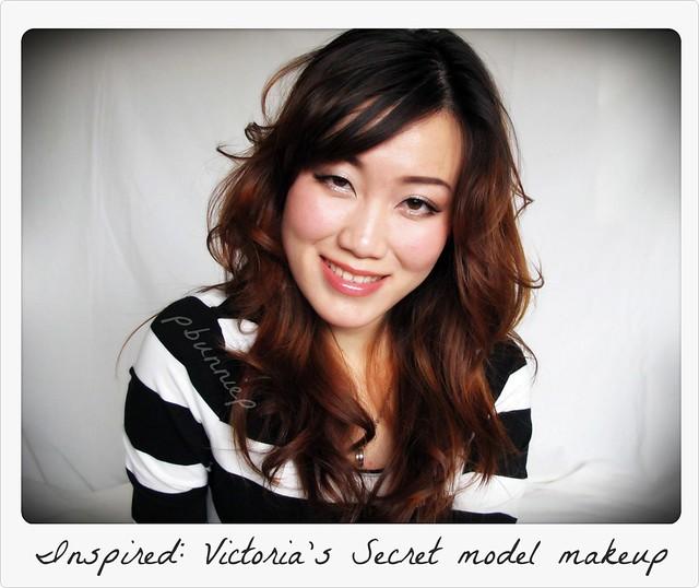 Victoria's Secret model makeup look