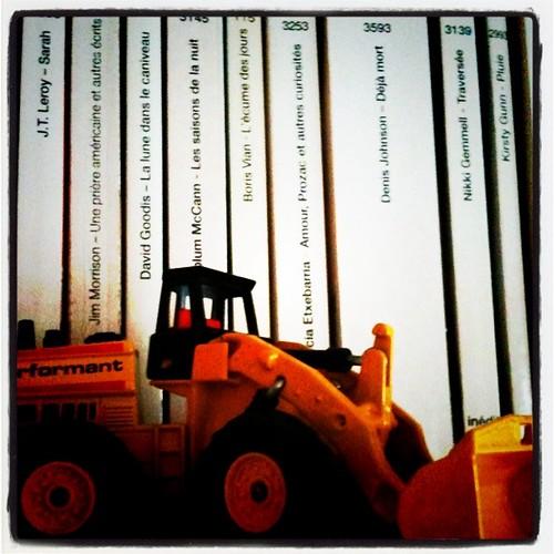 Travaux de bibliothèque