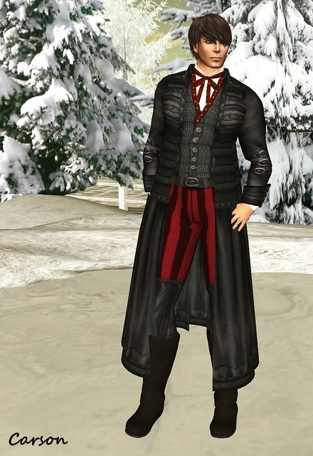 BlakOpal - Black Hawkesworth Outfit with gaiter pants