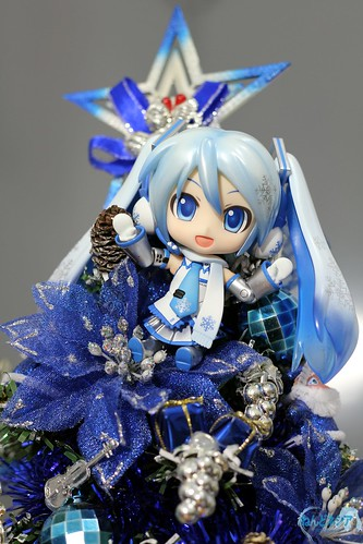 Climbing the Christmas tree