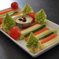 Dips de légumes et leurs sauces (by Eto)