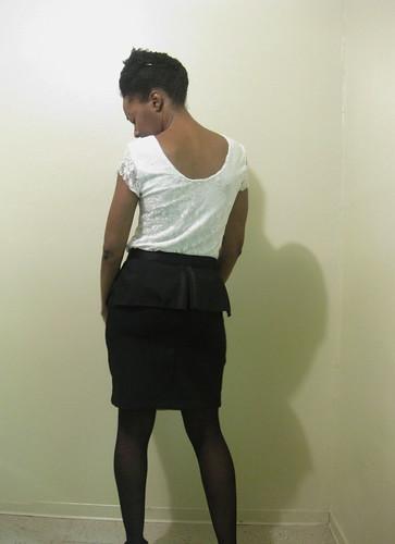 Tux Skirt, Peplum