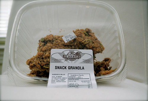 Big Sky Bakery Granola by reacurry