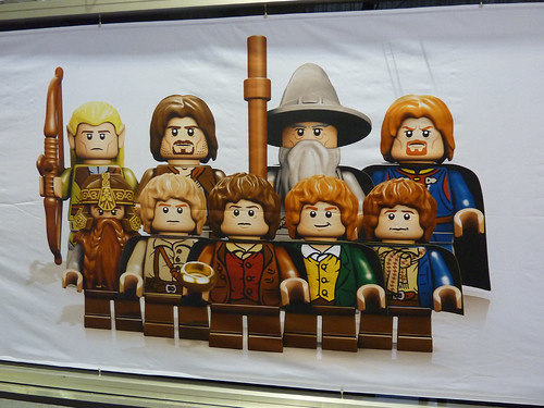 UK Toy Fair 2012 - Lord Of The Rings