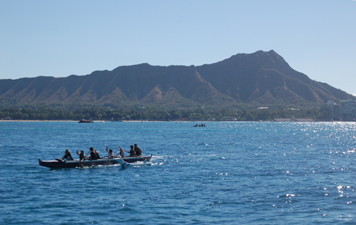 paddlers Diamond Head