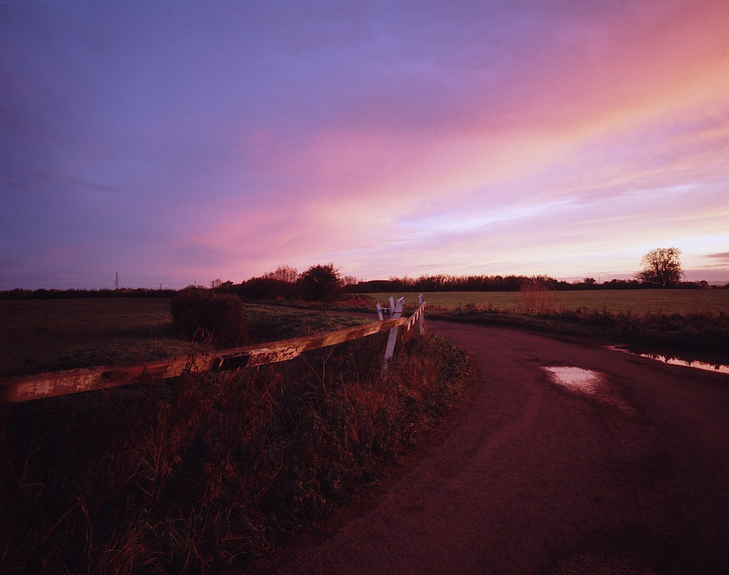 Eight Acre Drove, Somerset Levels