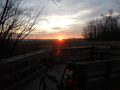 Bike Commute 141: Sunrise Moving South by Rootchopper