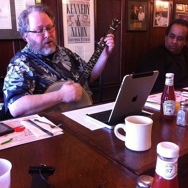 @clawhammertim at Boston Media Makers