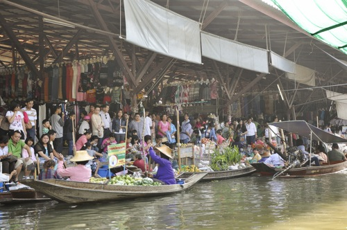 Floating market - Bangkok (50 of 66)