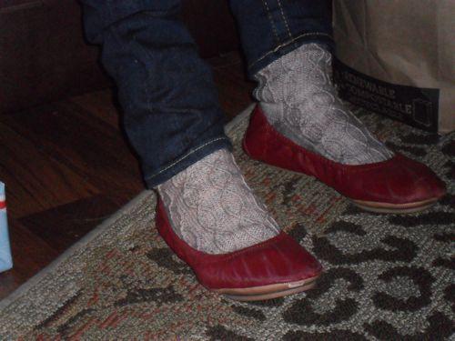 Bavarian cable socks