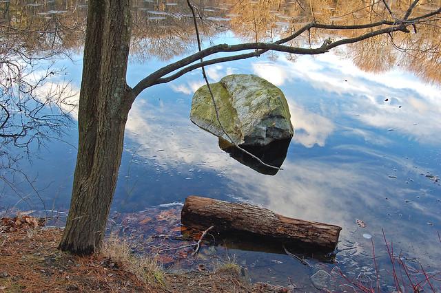 Suspended Stone