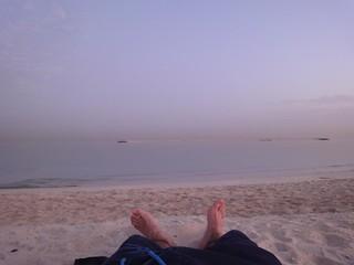 Dormir na praia no Dubai, EAU