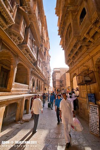 Streets of Jaisalmer.