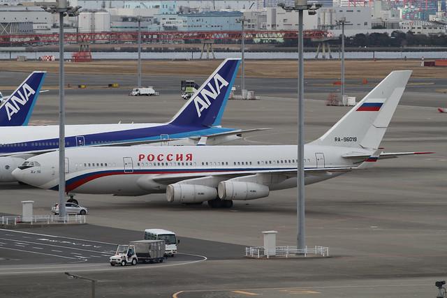 Russia State Transport Company Ilyushin Il-96-300(RA-96019)