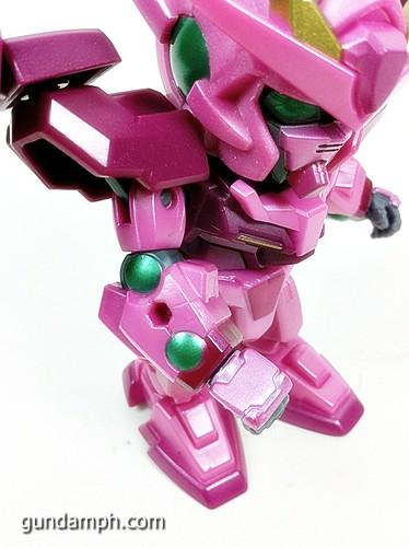 SD Gundam Online Capsule Fighter Trans Am 00 Raiser Rare Color Version Toy Figure Unboxing Review (19)
