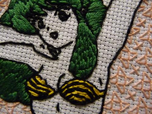 Embroidered Lum Urusei Yatsura