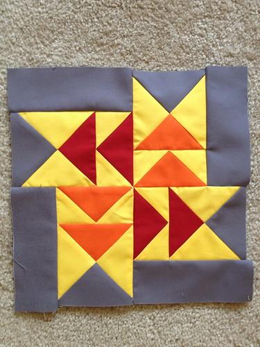 2012 3x6 Solids Bee Block
