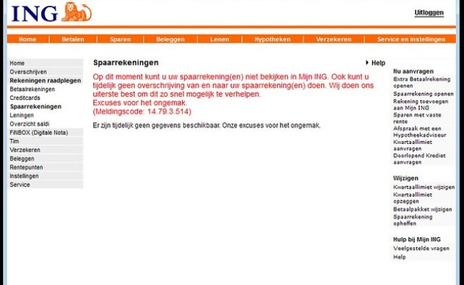 Storing Ing Internetbankieren Flickr Photo Sharing