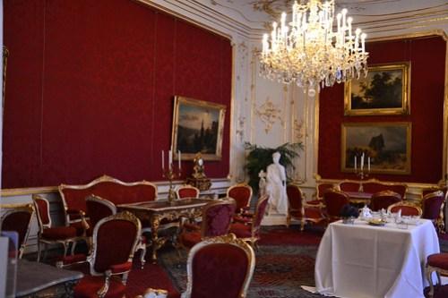 Apartamentos imperiales en Hofburg