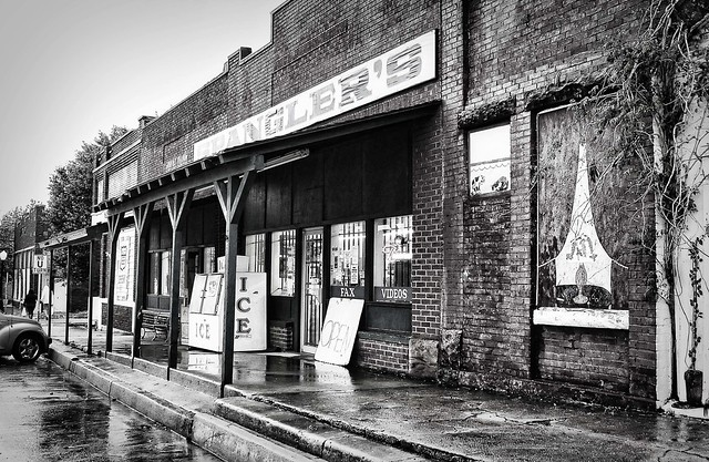 Depew, Oklahoma on a rainy day. Photo copyright Jen Baker/Liberty Images; all rights reserved.