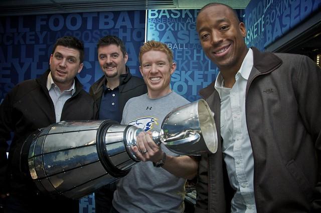 Grey Cup visits TEAM 1040