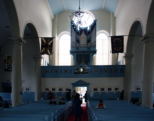 Canongate Kirk, interior looking south