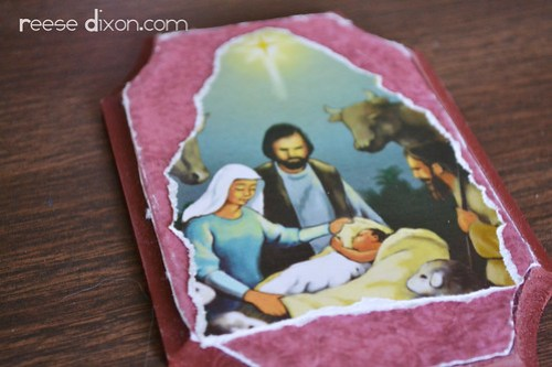 Holy Family Plaque Tutorial Step 4