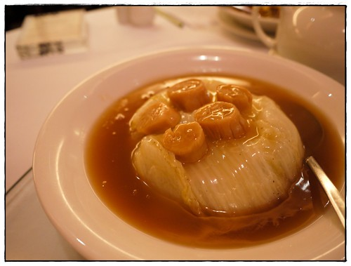 braised cabbage with dried scallop