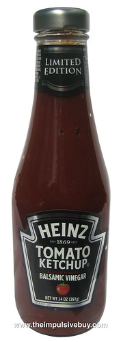 Limited Edition Heinz Tomato Kethcup Blended With Balsamic Vinegar