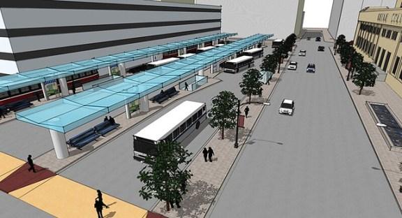 Union Station intermodal rendering