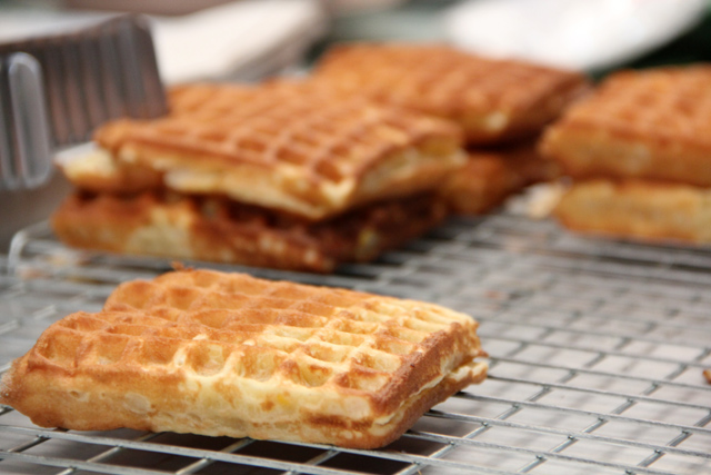 Thai Breakfast  Waffles