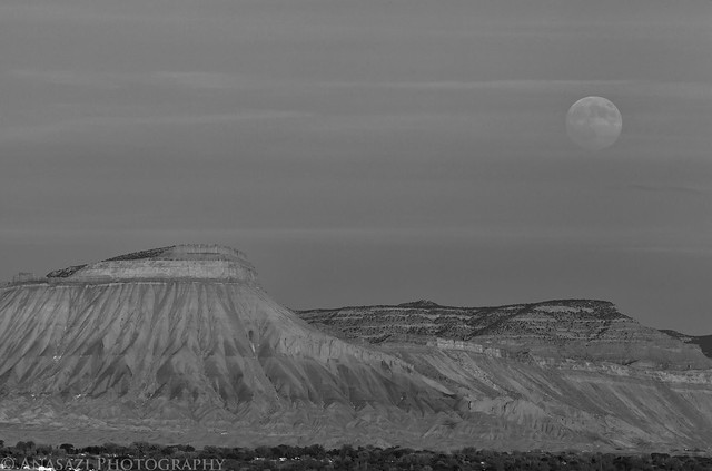 Hazy Moonrise
