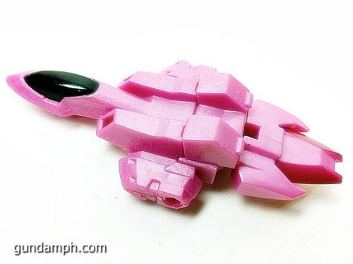 SD Gundam Online Capsule Fighter Trans Am 00 Raiser Rare Color Version Toy Figure Unboxing Review (28)