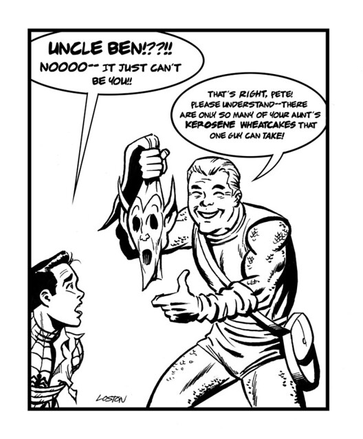 Giant-Size Marvel: Marvel Funnies: The Green Goblin Unmasked!
