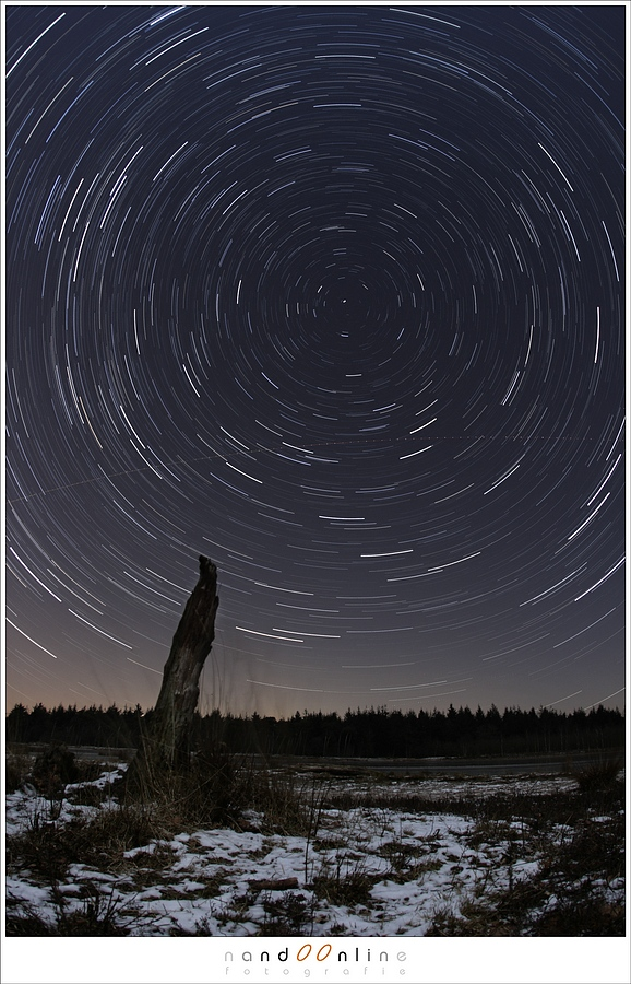 Sterrensporen: waar draaien de sterren omheen?