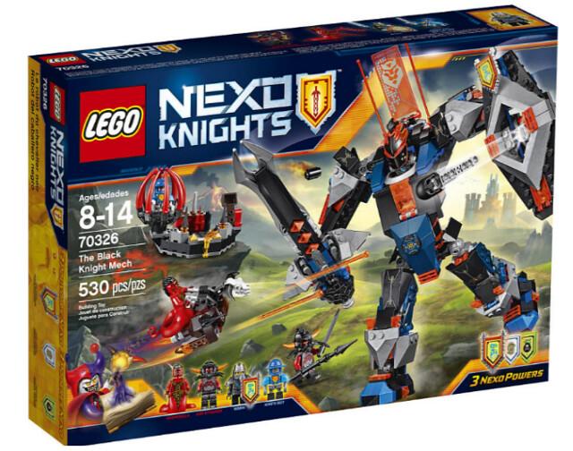LEGO Nexo Knights 70326 The Black Knight Mech box