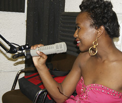 Tamarva at College radio station