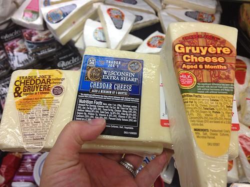 cheese! and i heart trader joe's!