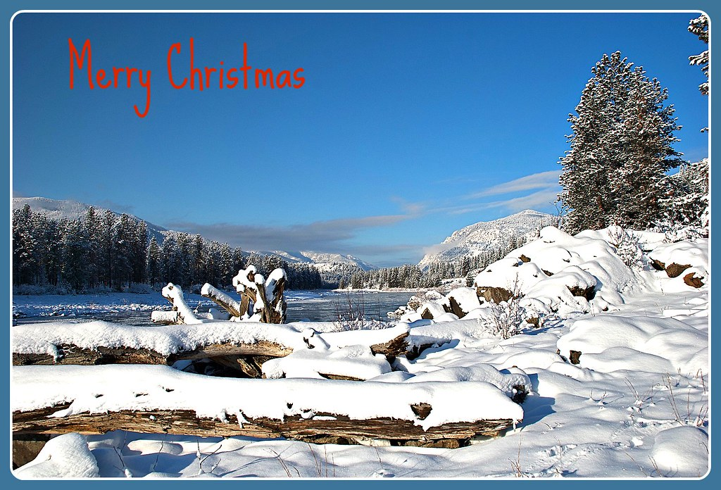 Clark Fork winter