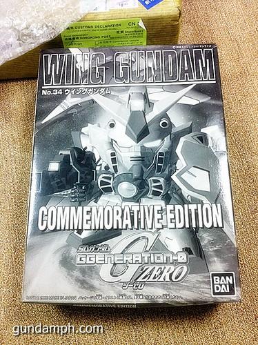 Buying Gundam Gunpla From HongKong SD Wing Commemorative Edition (8)
