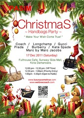LUXURYCOMETRUE Christmas Handbags Party 17 Dec  2011
